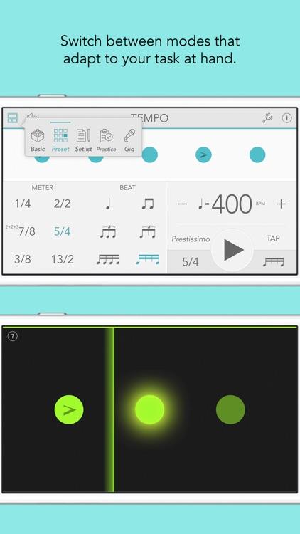 Tempo - Metronome with Setlist