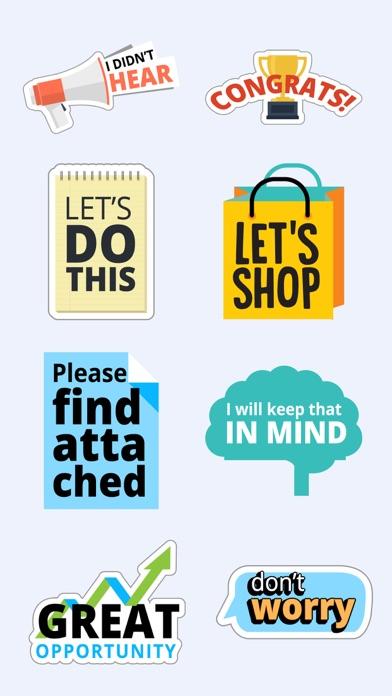 Fun Text Stickers for iMessage screenshot three