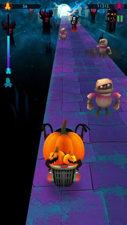 Halloween Night Ride Game screenshot-4