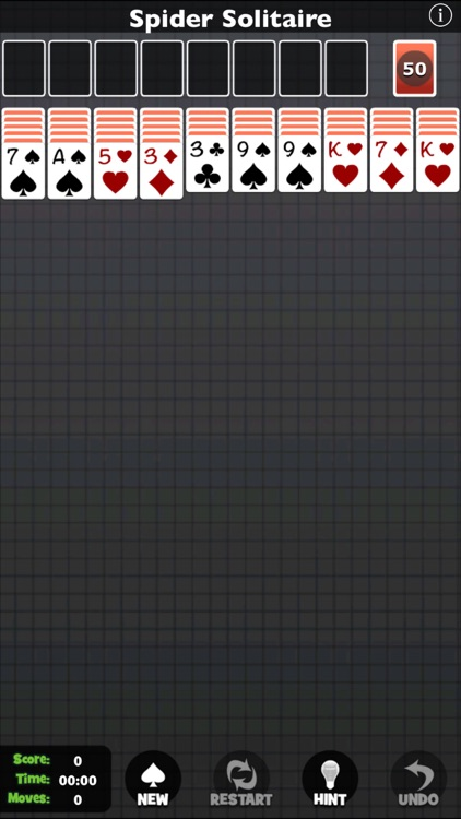 Spider Solitaire [Pokami] screenshot-2
