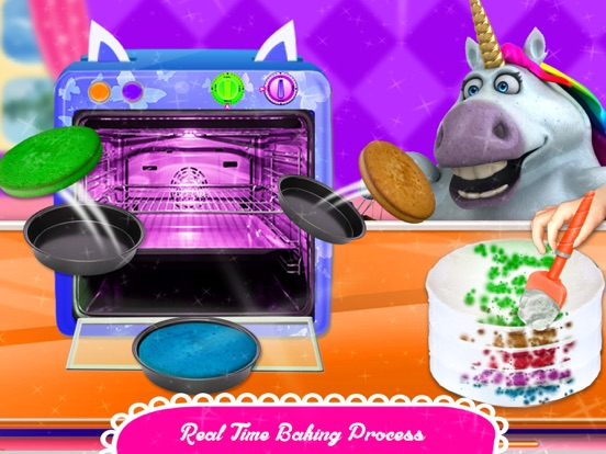 Fat Unicorn Cooking Pony Cake screenshot 7