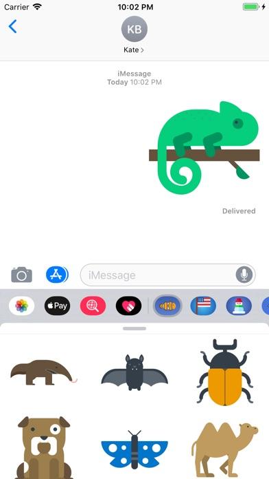 150+ Animals Stickers screenshot 1