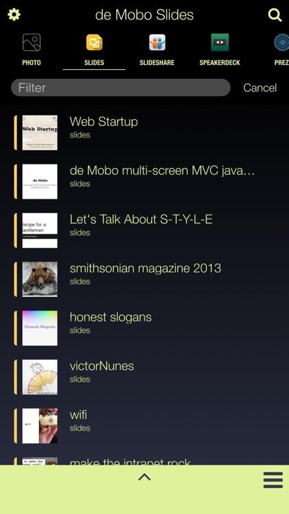 De Mobo Slides