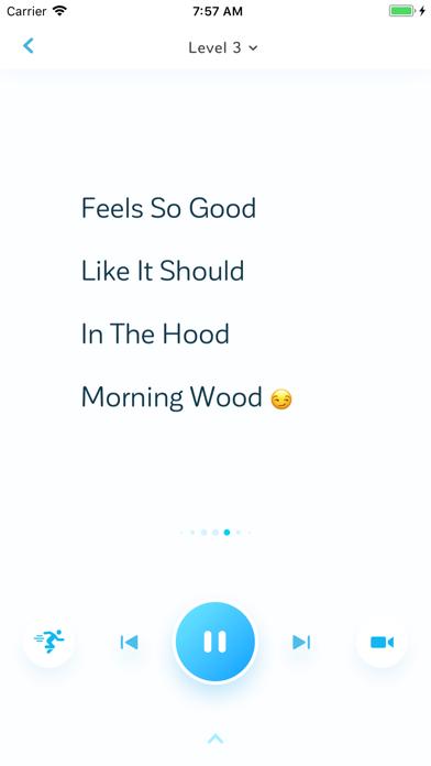 Rap App screenshot one