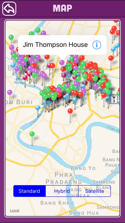Bangkok Offline Map Tourism Guide screenshot-4