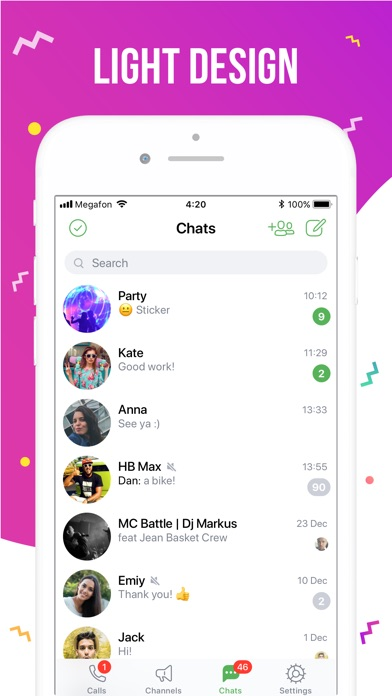 ICQ – Video Calls & Chat App Screenshots