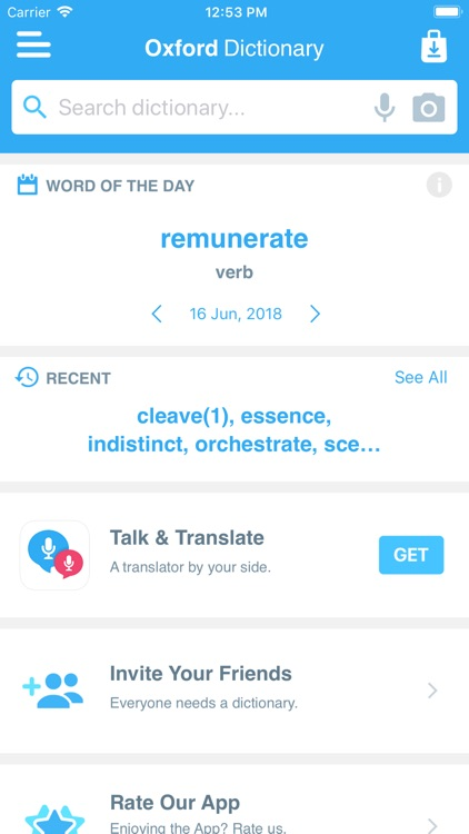 Concise Oxford Dictionary screenshot-4