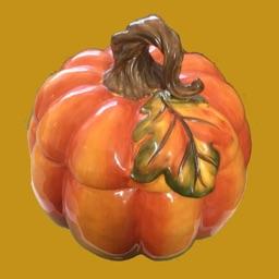 Fall Leaves & Pumpkin Stickers