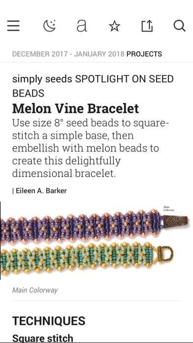 Beadwork Magazine screenshot four
