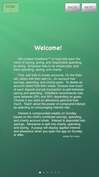 KidsBank screenshot-4