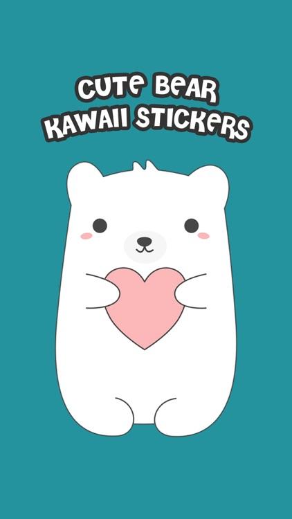 Cute Bear Kawaii Stickers