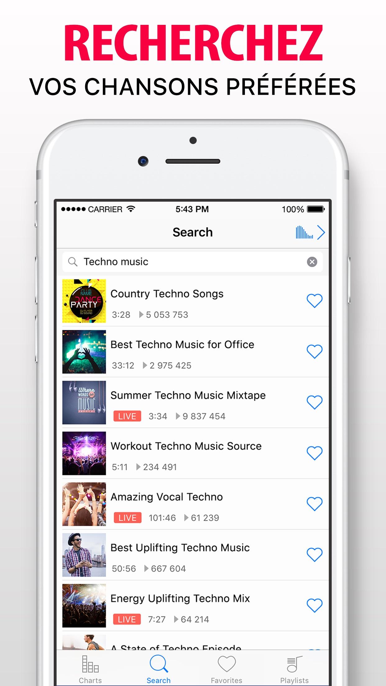 Music Now IE - Lecteur musique Screenshot