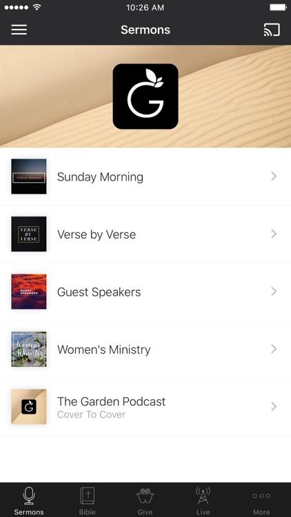 the garden church app - The Garden Fellowship