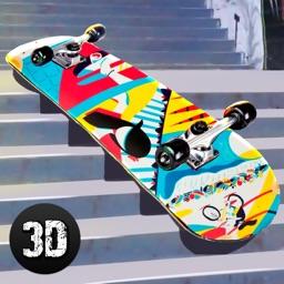 Downhill Longboarding Race Sim