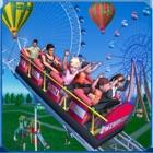 Crazy Train Roller Coaster Sim icon