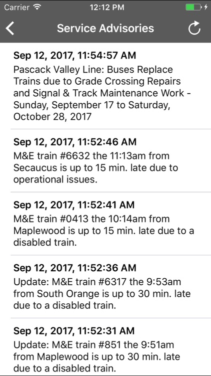onTime NJT screenshot-4
