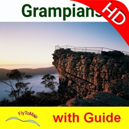 Grampians NP HD GPS and outdoor map with guide