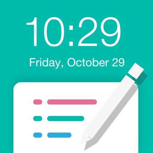 Reminders for Lockscreen Memo