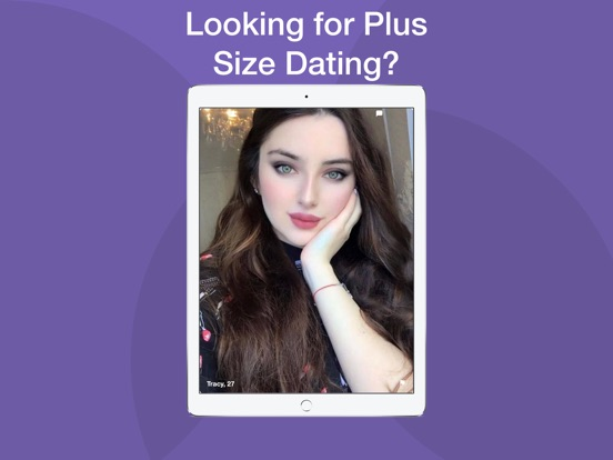 Screenshot 1 For Plus Size Dating By Peach