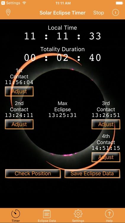 Solar Eclipse Timer screenshot-3