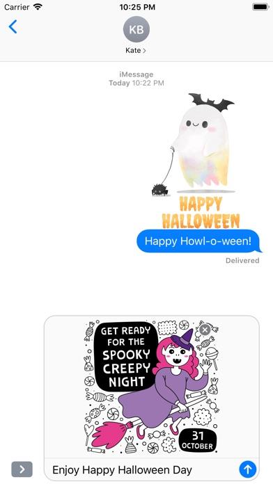 Cute Happy Halloween Day screenshot 2