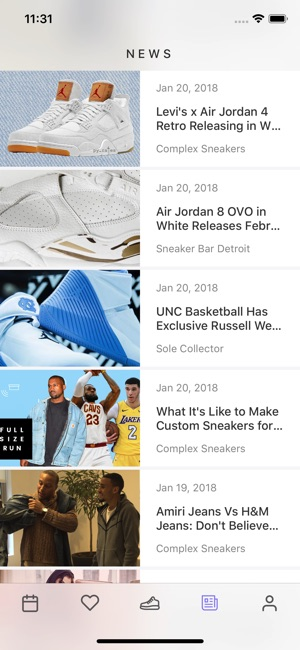 Sneaker Crush - Release Dates on the App Store 606563844