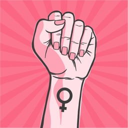 Women Power Stickers Pack