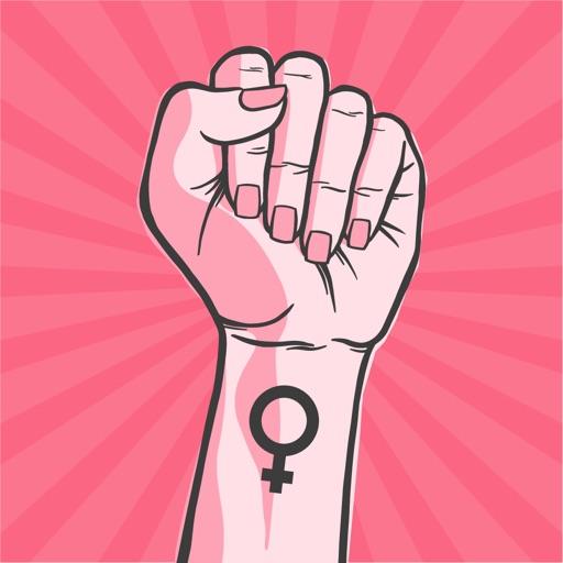 Women Power Stickers Pack