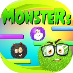 Monsters Game Drop it Down