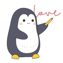 Lovely Penguins Sticker