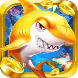 疯狂深海捕鱼 - 欢乐打鱼电玩城联网游戏