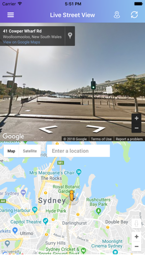 Street View Maps Live on the App Store