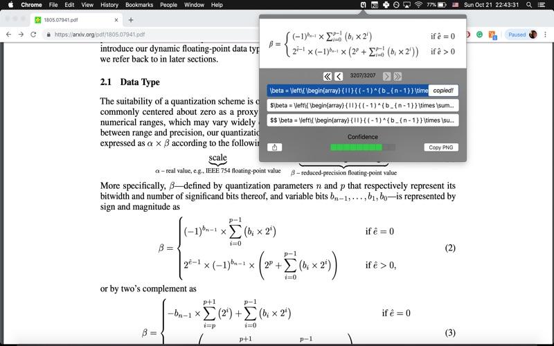 Mathpix Snipping Tool   Free Mac Software