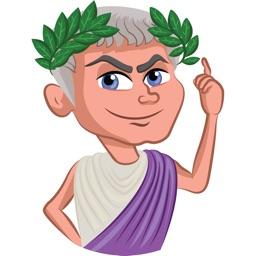 Caesar Stickers