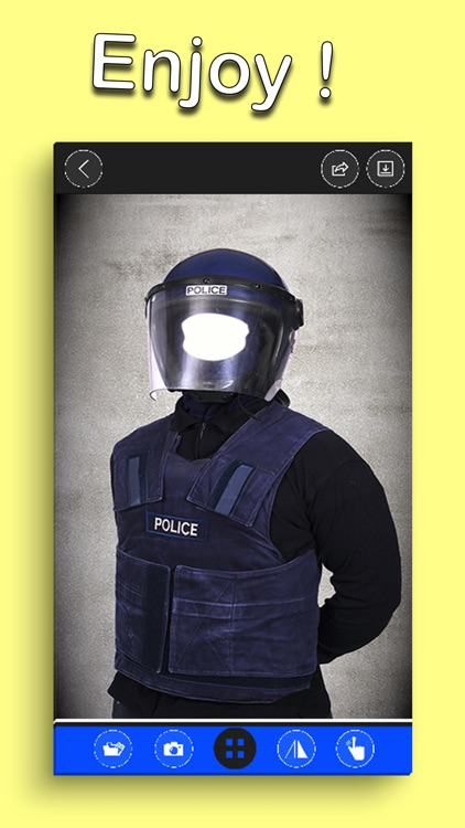 Police Suits Man Photo Editor