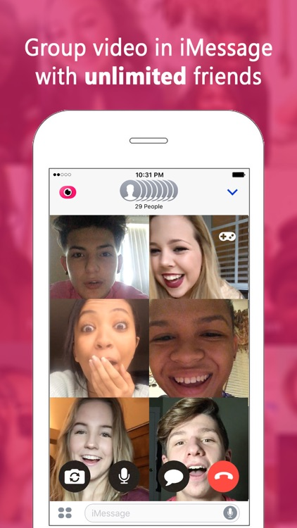 Fam: Group video for iMessage screenshot-0