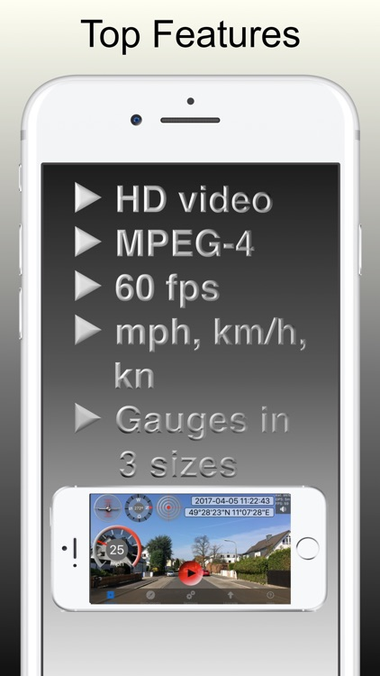 Action Cam - show speed, GPS