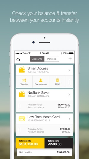 CommBank Screenshot