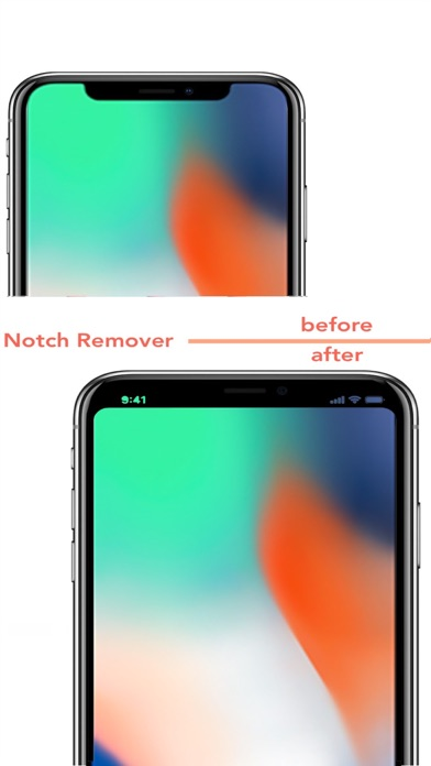 Notch Remover for X screenshot one