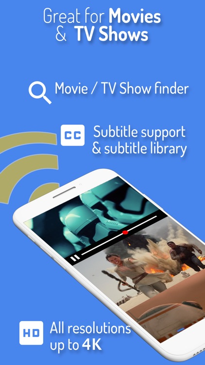 Web Video Cast for Chromecast screenshot-1