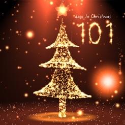 Christmas Countdown 3D scene 4+