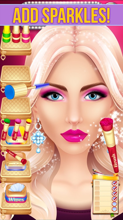 Make Up Makeover Salon Party screenshot-3