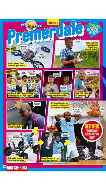 BBC Match of the Day magazine screenshot-4