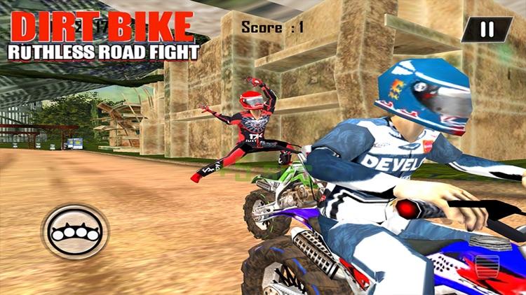 Dirt Bike Road Fight Racing screenshot-3