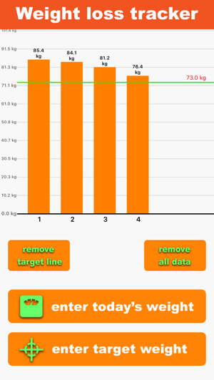 ‎7 Minute Fitness - Orange App Screenshot
