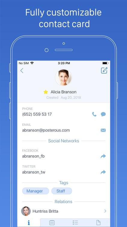Top Contacts - Contact Manager screenshot-2