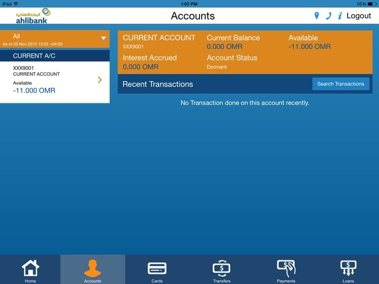 Ahlibank M-Bank for iPad screenshot-4