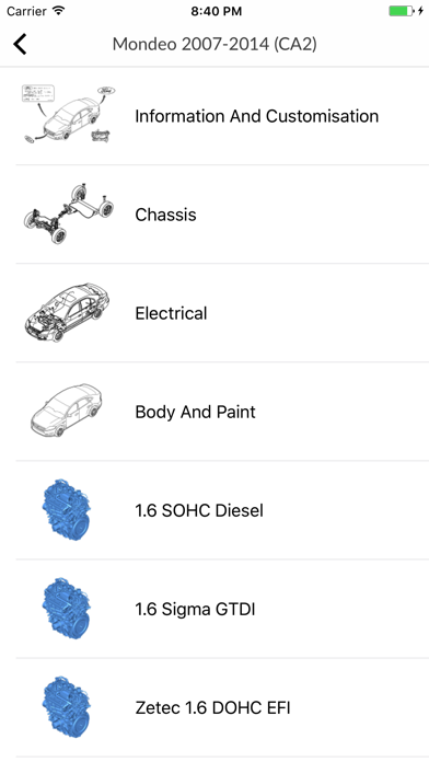 Screenshot for Car parts for Ford in Egypt App Store