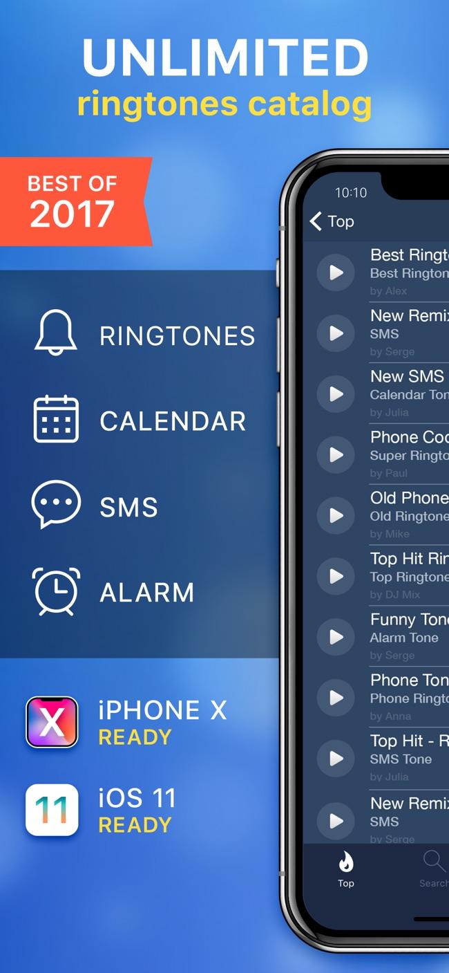 Ringtones for iPhone & Maker Screenshot