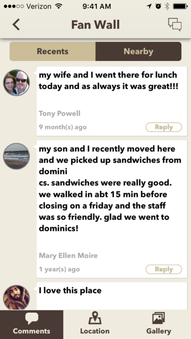 Dominic's Deli & Eatery -Screenshot of 4